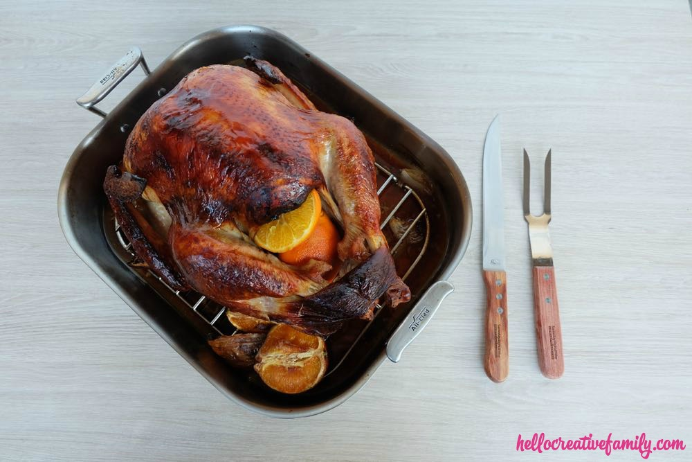 Back To Basics- How To Roast A Perfect Thanksgiving Turkey + 2 Turkey Brine Recipe Variations