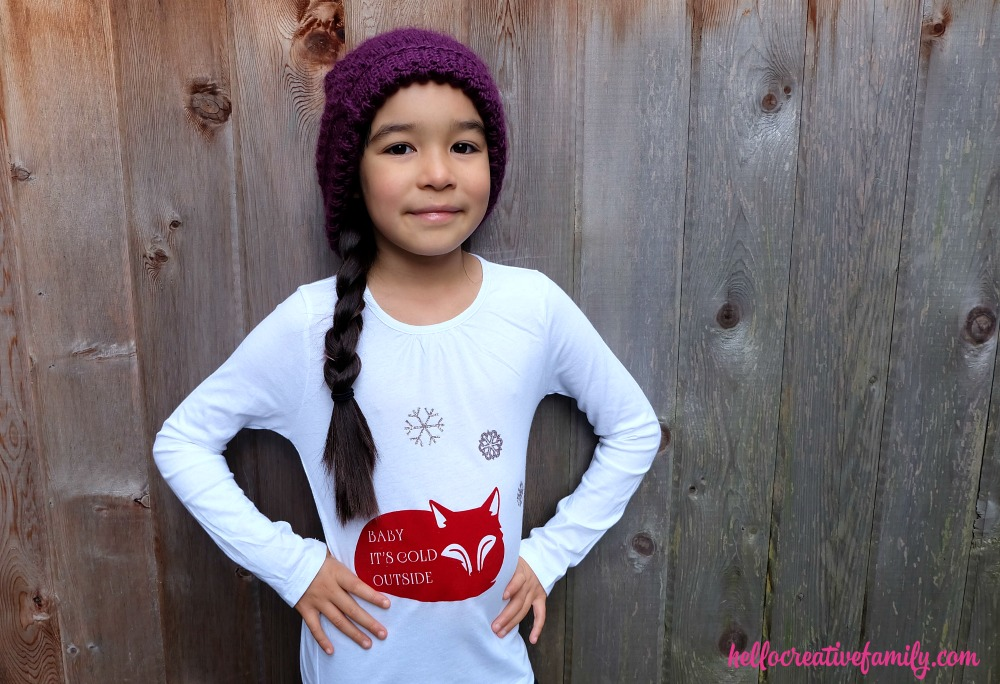 Diy Baby It S Cold Outside Shirt With Fox Hello Creative