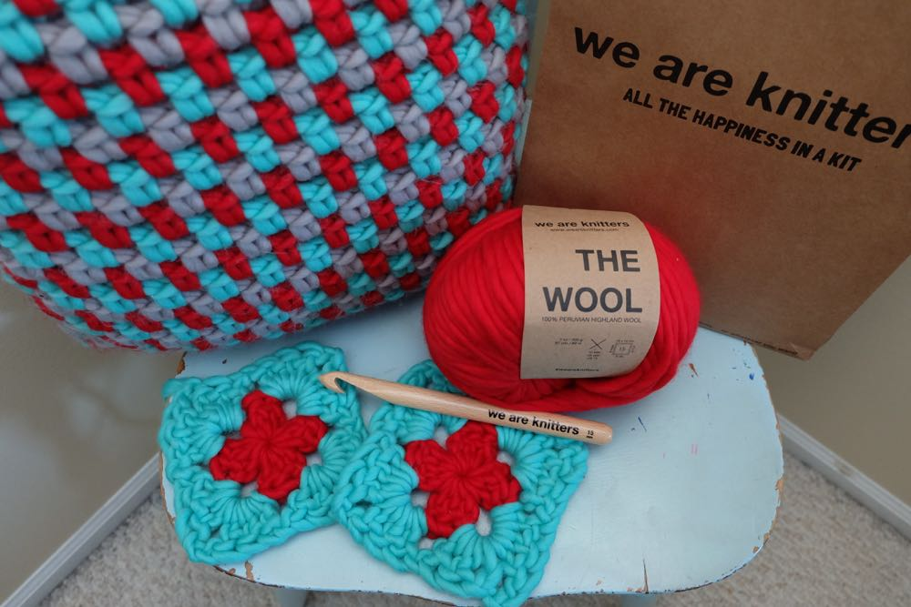 Plow Cushion Crochet Pattern And Kit From We Are Knitters A