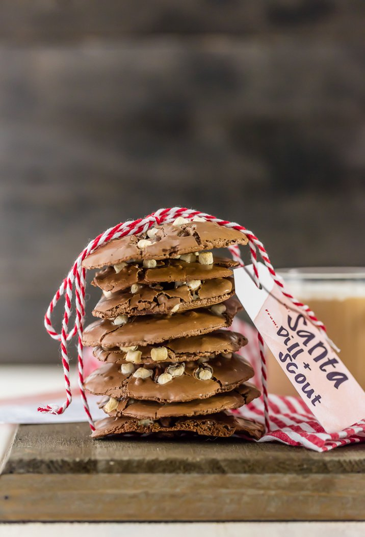 27+ Cookie Recipes Perfect For Christmas Cookie Exchanges- Flourless Hot Chocolate Cookie Recipe from The Cookie Rookie