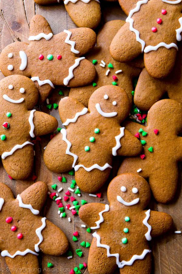 27+ Cookie Recipes Perfect For Christmas Cookie Exchanges- Soft and Chewy Gingerbread Man Recipe from Sally's Baking Addiction