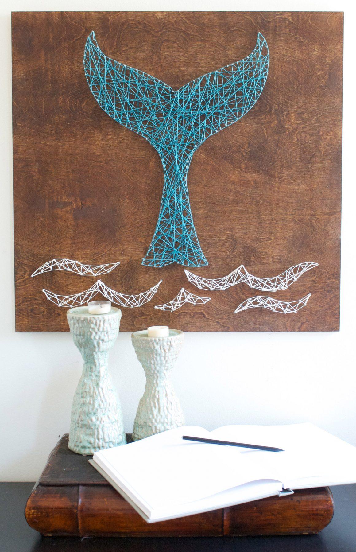 27+ DIY String Art Project Inspiration - Hello Creative Family