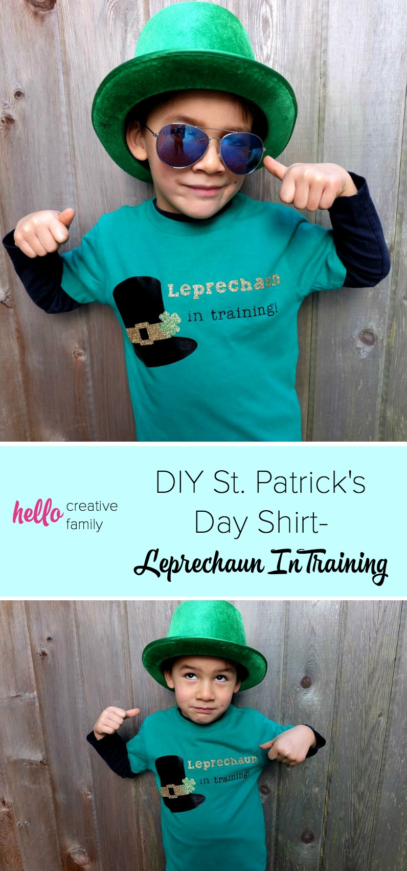 517b2b576 Your little leprechaun will be the cutest kid on the block with this DIY St.