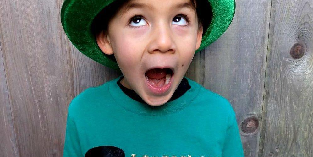 DIY St. Patricks Day Shirt- Leprechaun In Training