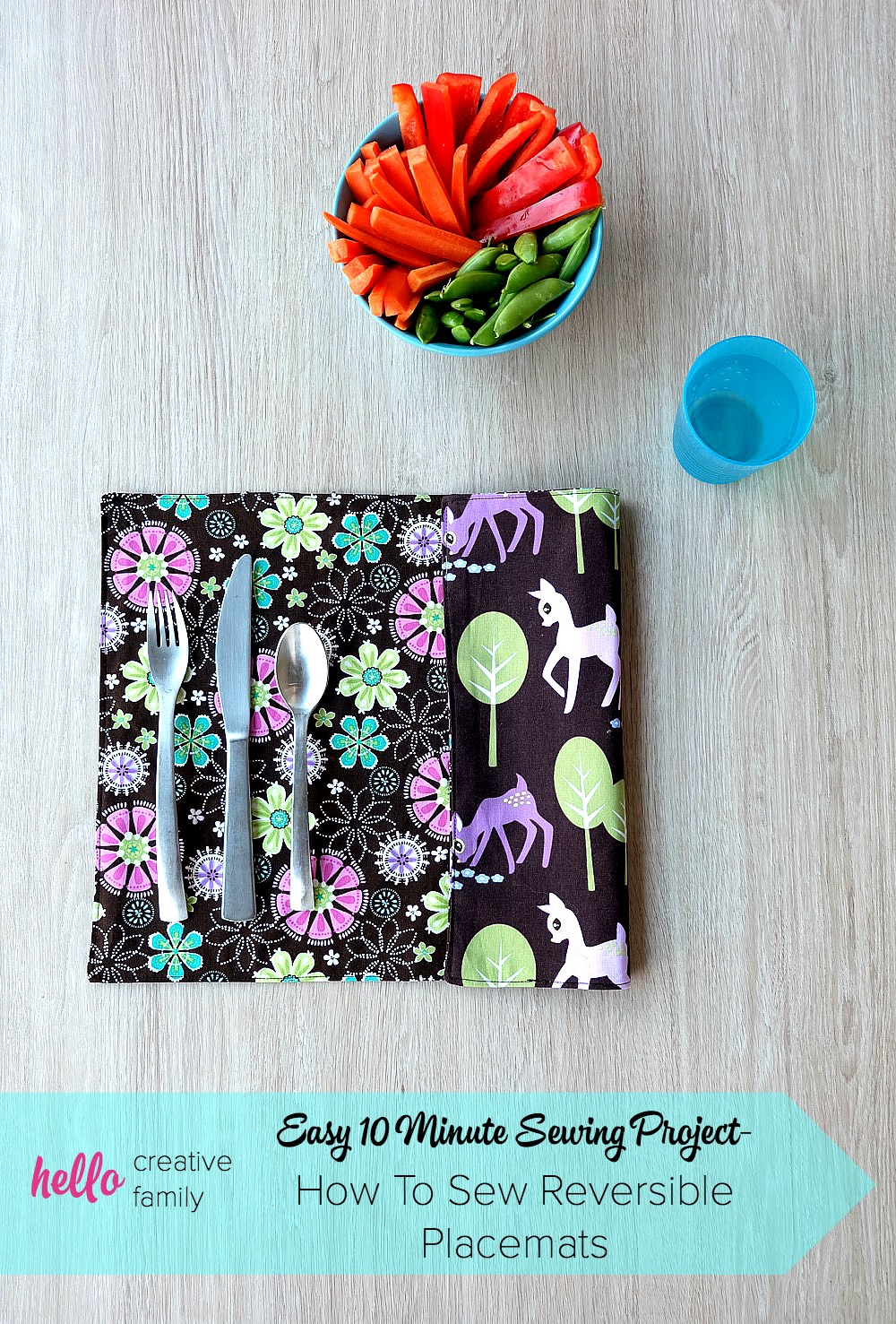 this 10 minute sewing project is perfect for beginner sewers this free tutorial has step