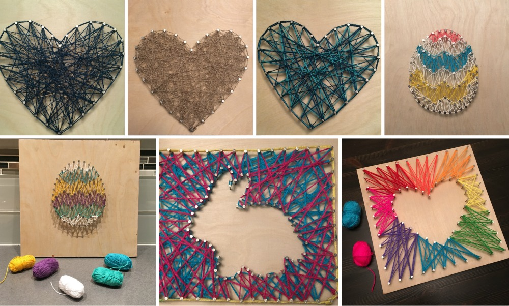 Get A Group Of Friends Together For Craft Night And Try This Easy Diy Project