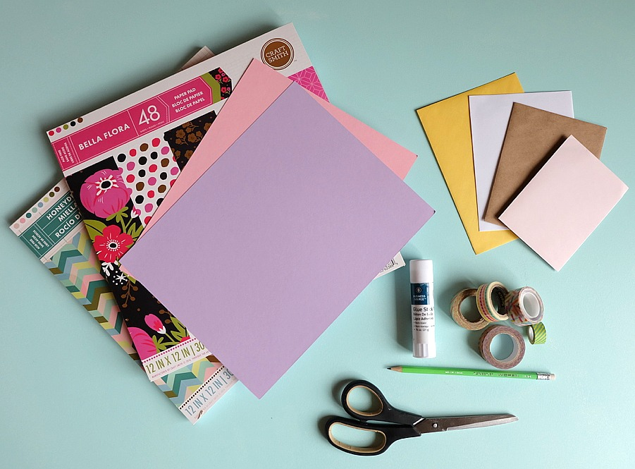How to make diy envelopes tutorial hello creative family youll want to hang onto old christmas and birthday card envelopes after reading this bookmarktalkfo