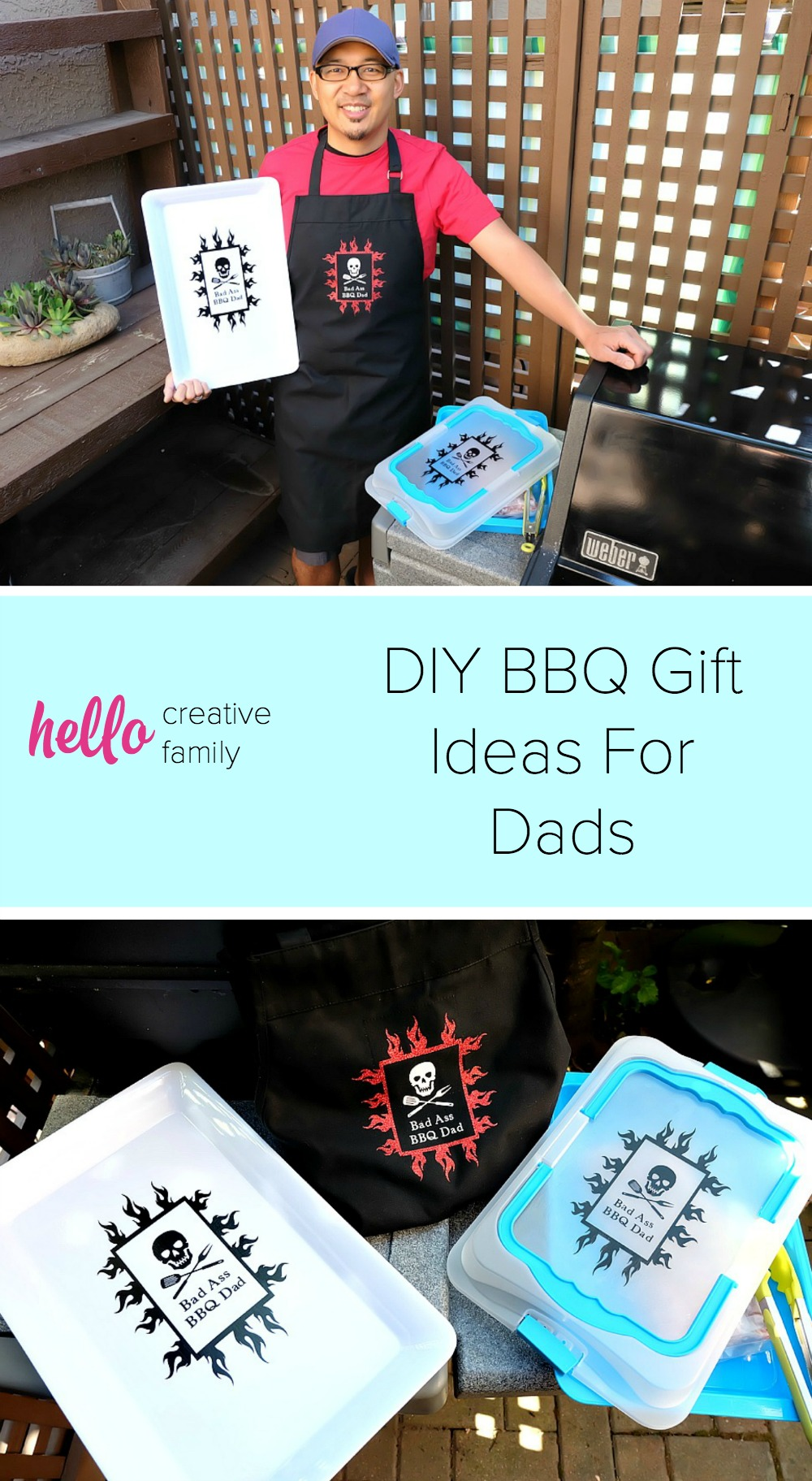 Christmas Gift Ideas 2017 For Father : Diy bbq gift ideas for dads made on the cricut perfect