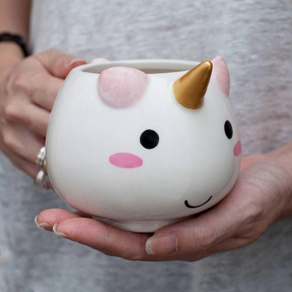 75+ Magically Inspiring Unicorn Crafts, DIYs, Foods and Gift Ideas: Elodie Unicorn Mug