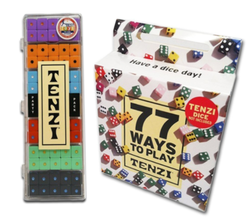 picture relating to 77 Ways to Play Tenzi Printable called Do it yourself Tenzi Outside Garden Cube Recreation Manual - Good day Imaginative