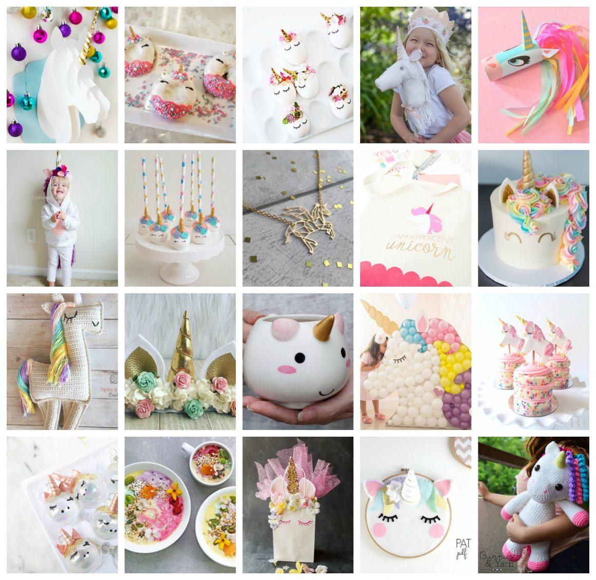 75 Magically Inspiring Unicorn Crafts Diys Foods And Gift Ideas