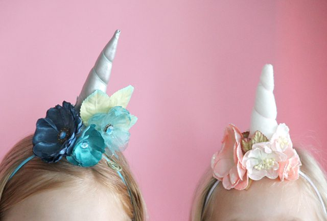 75+ Magically Inspiring Unicorn Crafts, DIYs, Foods and Gift Ideas: Unicorn Headbands from eHow
