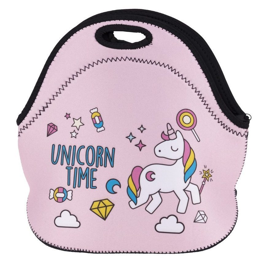 75+ Magically Inspiring Unicorn Crafts, DIYs, Foods and Gift Ideas: Unicorn Time Lunch Bag