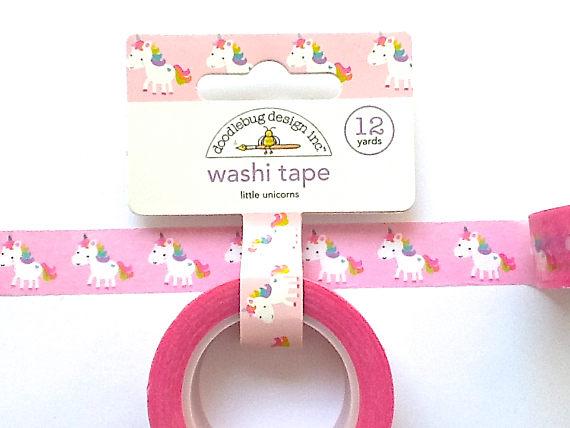 75+ Magically Inspiring Unicorn Crafts, DIYs, Foods and Gift Ideas: Unicorn Washi Tape