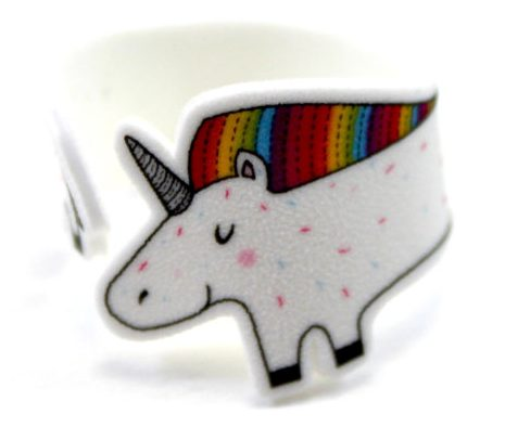 75+ Magically Inspiring Unicorn Crafts, DIYs, Foods and Gift Ideas: Unicorn Wrap Around Ring