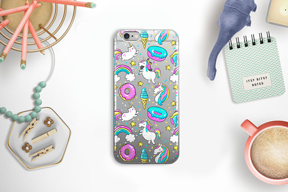 75+ Magically Inspiring Unicorn Crafts, DIYs, Foods and Gift Ideas: Unicorn iPhone Case