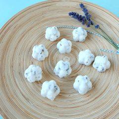 DIY Lavender Coconut Sugar Scrub Bars