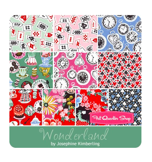 Wonderland Fat Quarter Bundle from Fat Quarter Shop