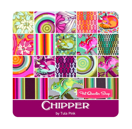 Chipper Fat Quarter Bundle from The Fat Quarter Shop