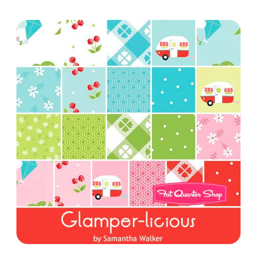 Glamper-Licious Fat Quarter Bundle
