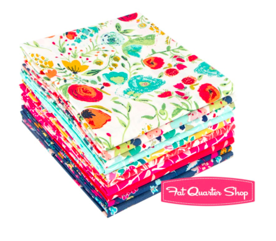 Abloom Fat Quarter Bundle from Fat Quarter Shop