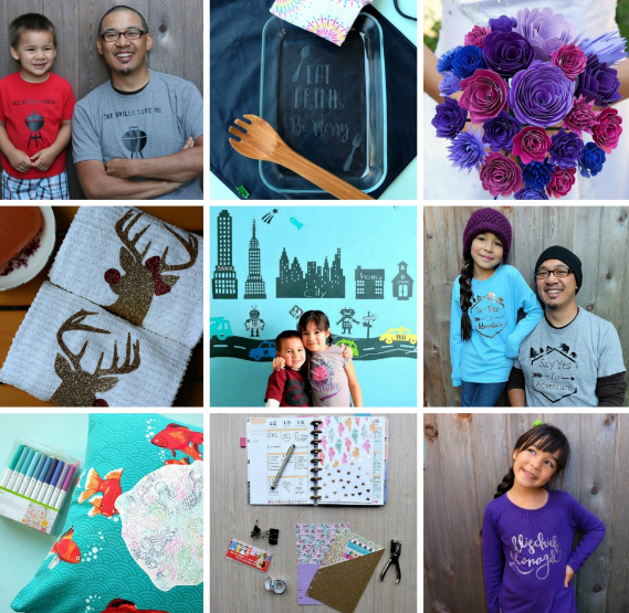Tons of fun and easy Cricut craft project ideas from Hello Creative Family!