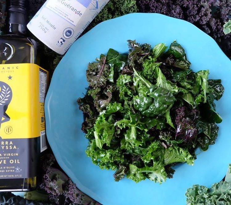 Back To Basics- The Secret to The Most Tender Kale Salad You've Ever Tasted