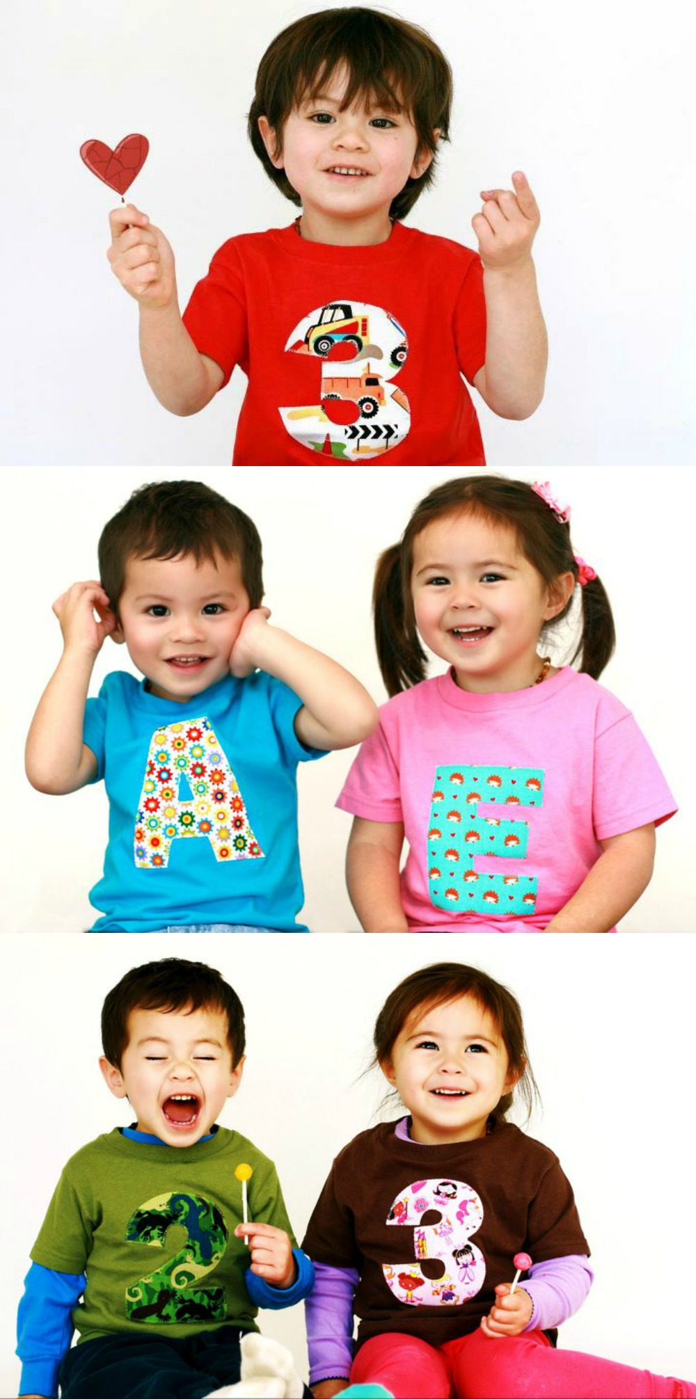 Learn How To Make A Appliqued Letter Or Number Birthday Shirt With This Simple Tutorial
