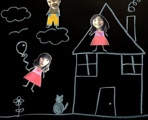DIY Shrinky Dinks Family Play Set