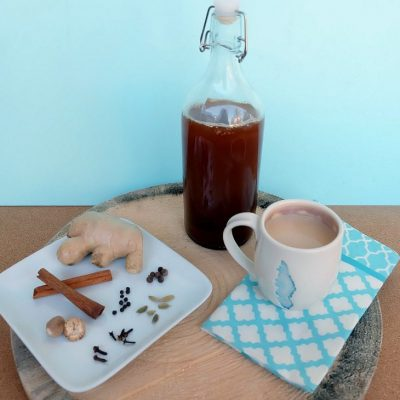 Easy Spicy Chai Tea Concentrate Recipe