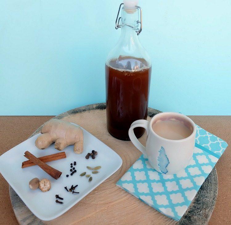 Easy Spicy Chai Tea Concentrate Recipe