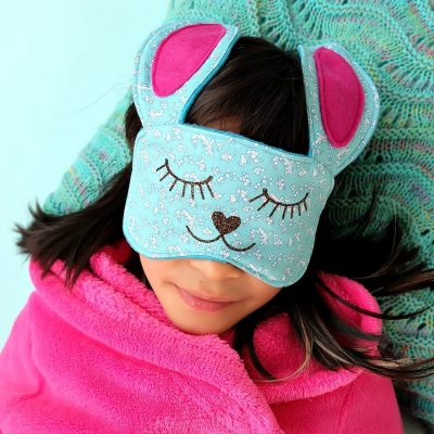 30 Minute Bunny Sleep Mask Sewing Tutorial