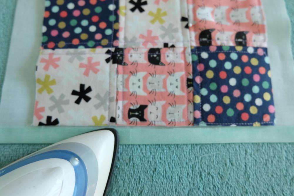 Sew A Fabric Scrap Mug Rug Tutorial