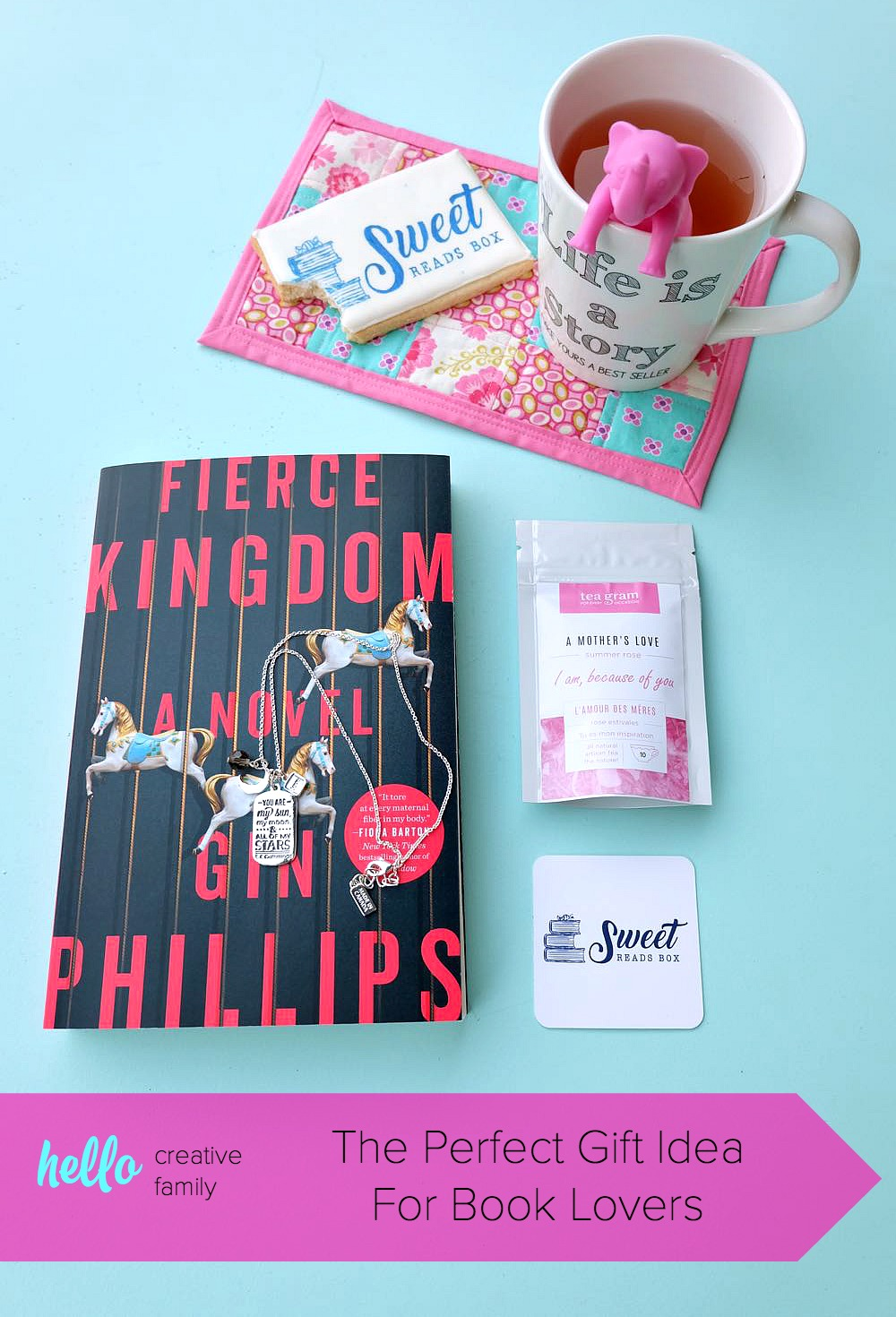 Looking for the perfect gift idea for book lovers in your life? We're sharing the Sweet Reads Box & why it's a great gift for yourself or your book club! Perfect for Christmas, Mother's Day, Birthdays or for a mama to be at her baby shower! #giftidea #books