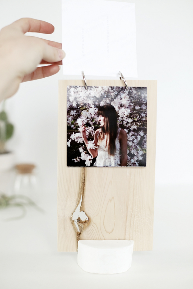 50 Easy Handmade Gift Ideas You'll Love: DIY Photo Display from The Merry Thought
