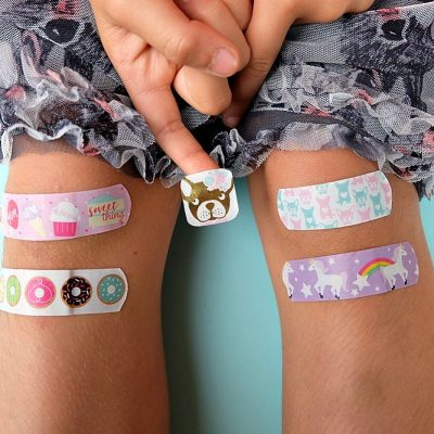 DIY Washi Tape Bandages