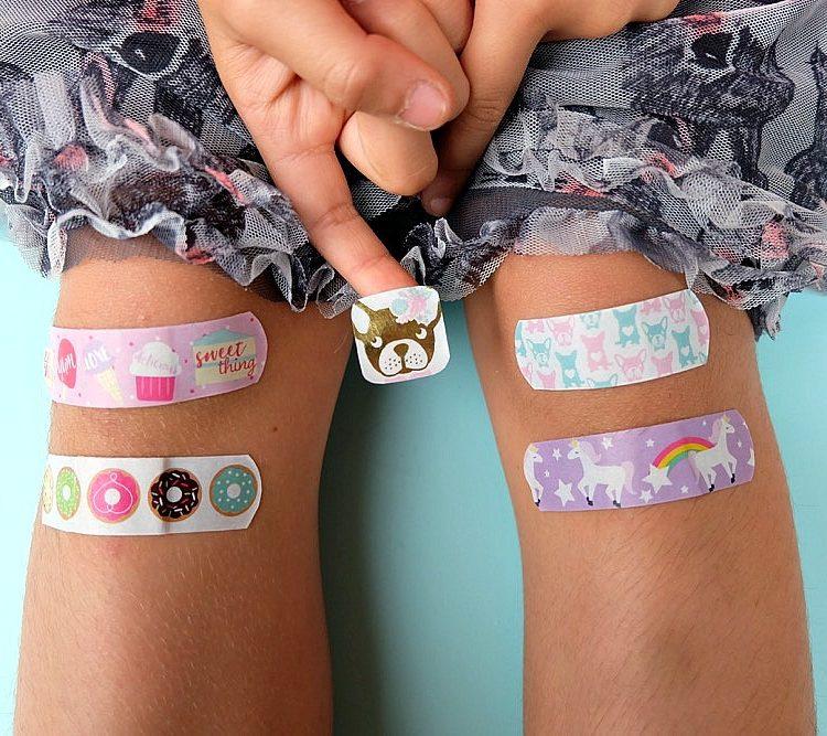 DIY Washi Tape Bandages