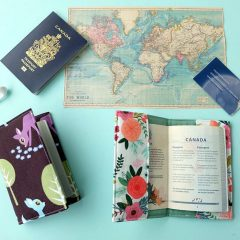 Easy 30 Minute DIY Passport Holder Sewing Tutorial With Pocket for ID