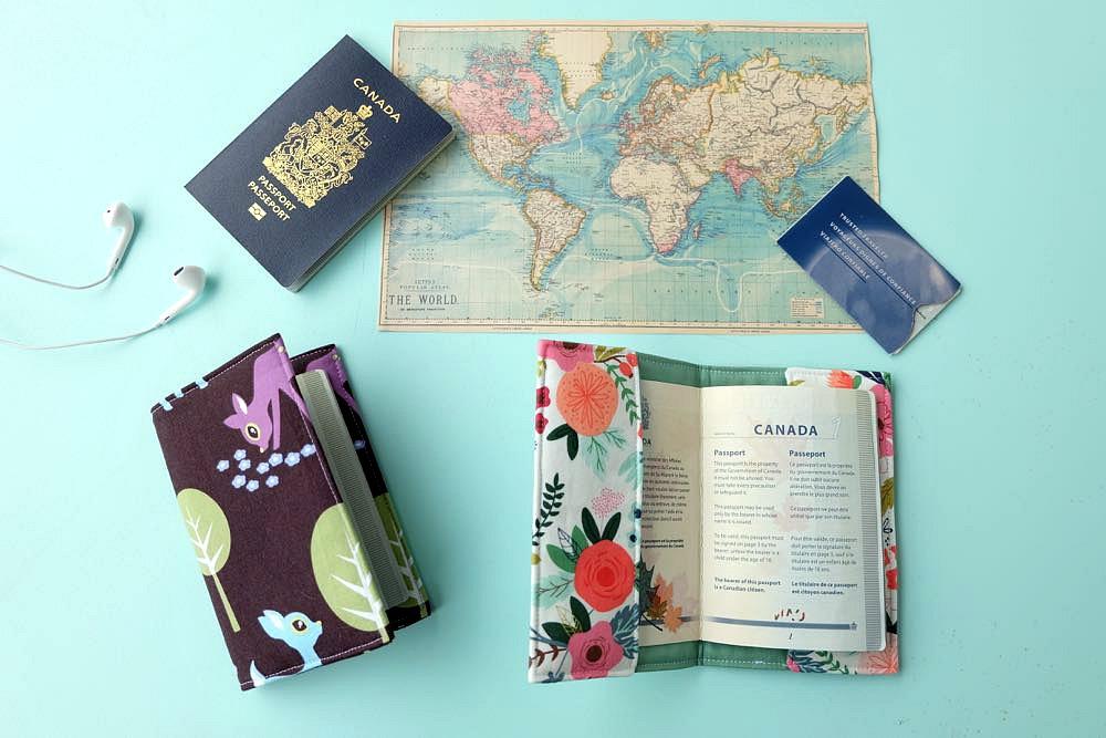 Easy 30 Minute Diy Passport Holder