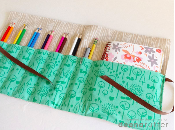 50 Easy Handmade Gift Ideas You'll Love: DIY Pencil and Notebook Carrying Case