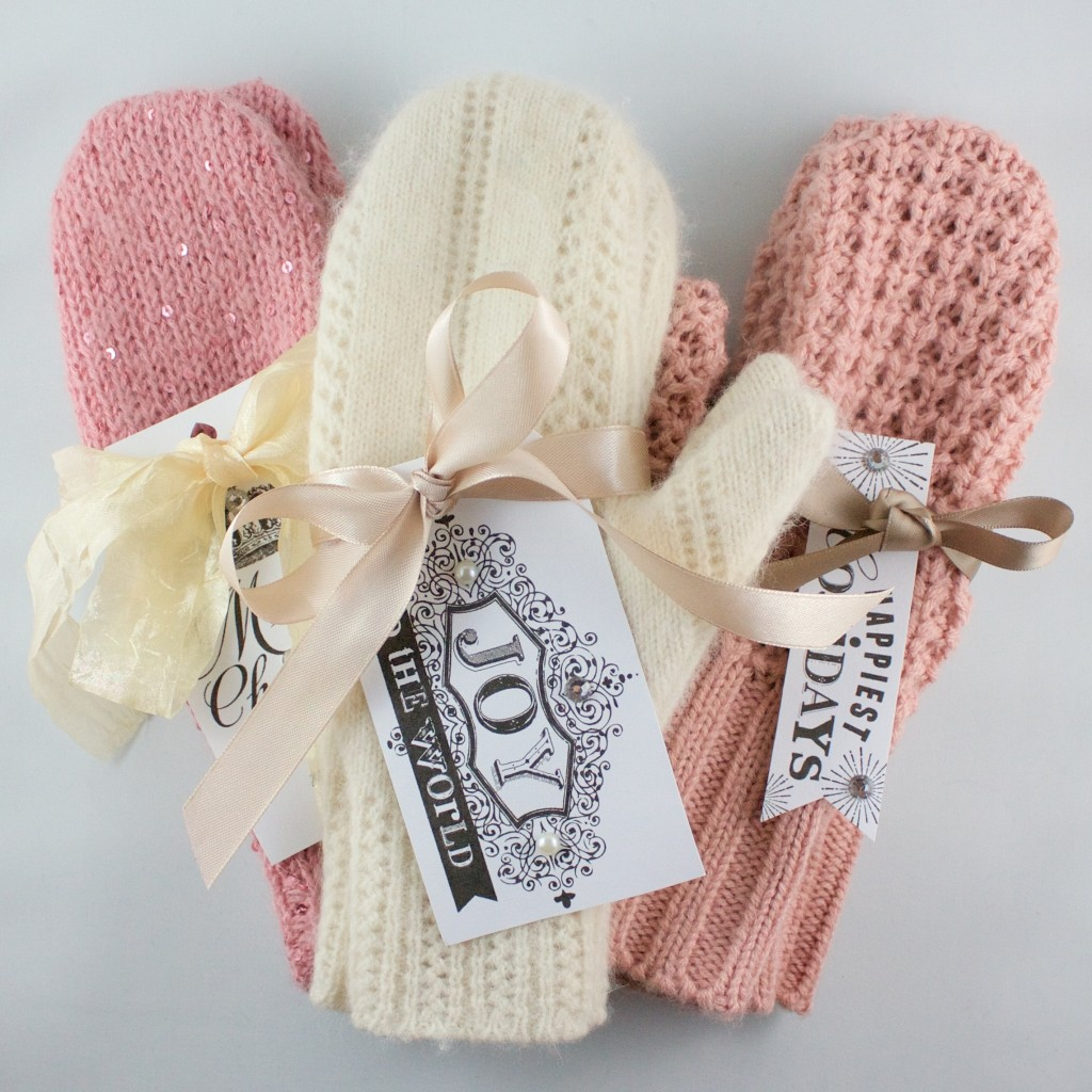50 Easy Handmade Gift Ideas You'll Love: Sweater Mittens from Feathering My Nest