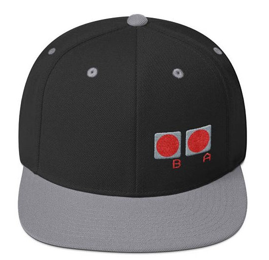 Handmade Holiday Gift Guide Gifts For Him: Classic Video Controller Baseball Hat from The Fort