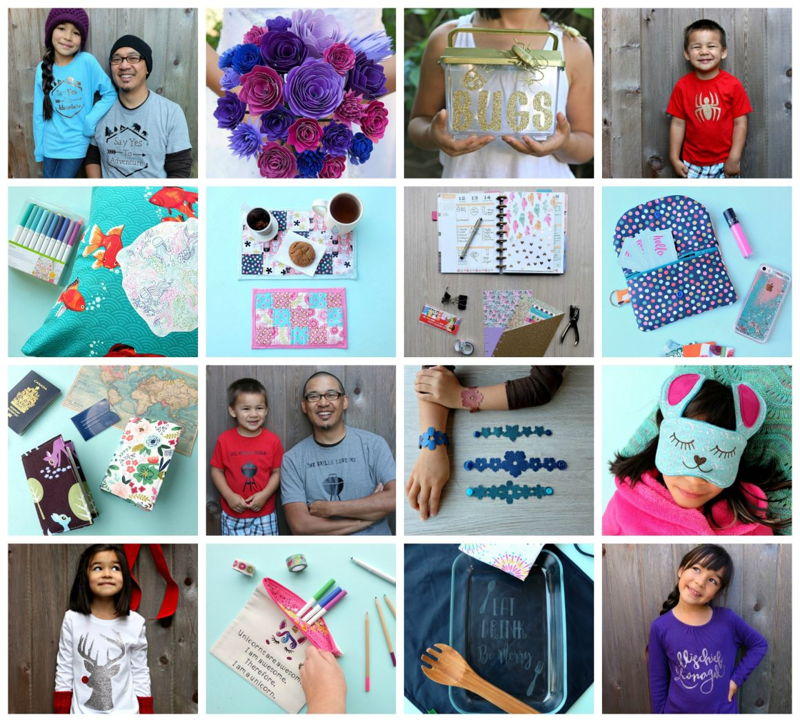 A ton of great project ideas for the Cricut Maker and the Cricut Explore from Hello Creative Family. Most of these projects take 1 hour or less to make! #CricutMaker #CricutMade #cricutprojects #craft