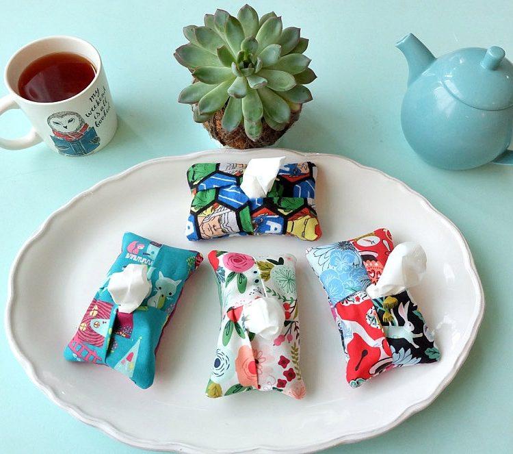 5 Minute Kleenex Holder- Free Cricut Maker Sewing Pattern