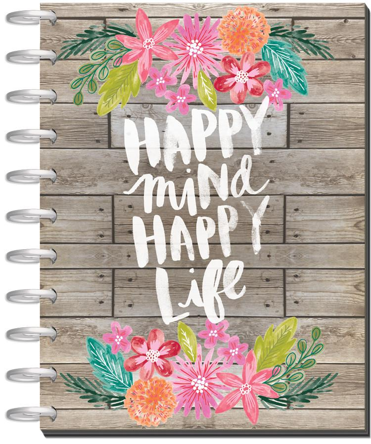 Happy Mind Happy Life Happy Planner 2018