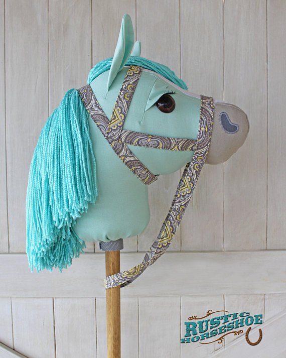 Handmade Holiday Gift Guide Gifts For Kids: Hobby Horse from Rustic Horseshoe