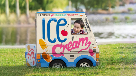 Handmade Holiday Gift Guide Gifts For Kids: Ice Cream Truck from Famous OTO