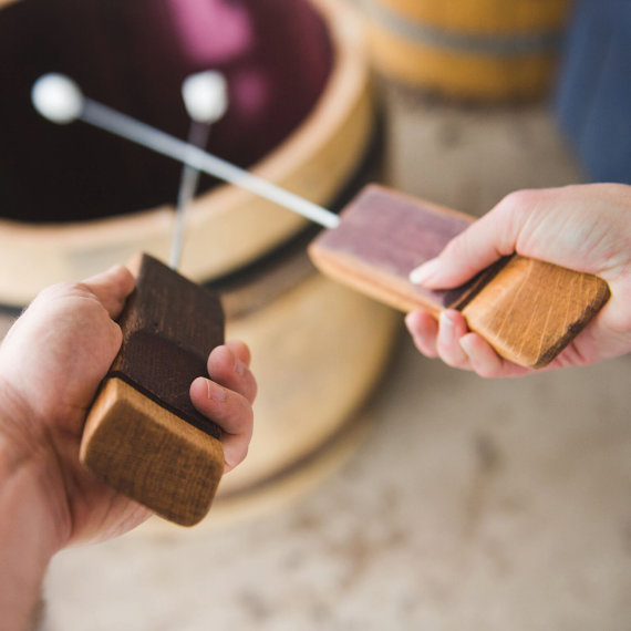 Handmade Holiday Gift Guide Gifts For Him:Marshmallow Roasting Sticks from Alpine Wine Designs