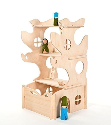 Handmade Holiday Gift Guide Gifts For Kids: Modular Play Tree House from Manzanita Kids