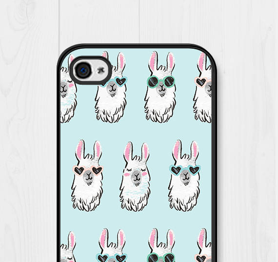 50+ Lovely Llama Crafts, Printables, SVG's DIY's, Food and Gift Ideas: Llama Sunglasses Phone Case from Field Trip